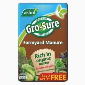 Farmyard Manure (Gro-sure Flashed B2G3F) 50L
