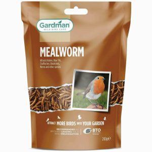 GM Mealworm Pouch 200g