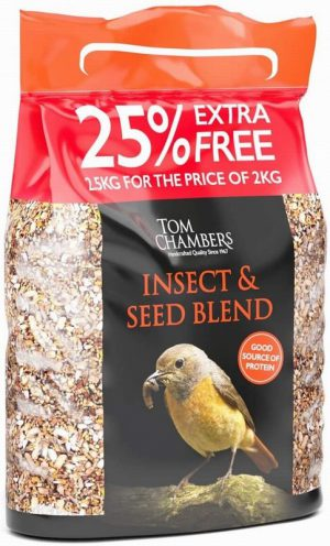 Insect 'n' Seed Blend – 25% FOC – 2.5kg