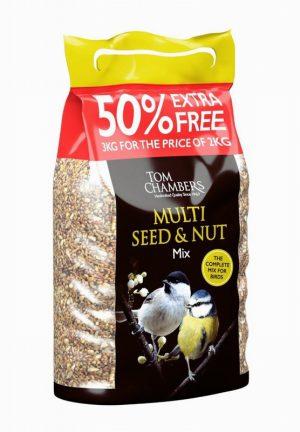 Multi Seed & Nut Mix – 50% FOC – 3kg