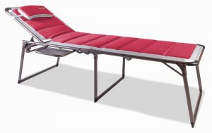 Bordeaux Pro Lounge bed with side table