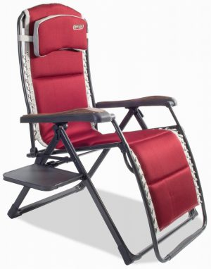 Bordeaux Pro Relax XL chair with side table