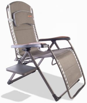 Naples Pro Relax XL chair with side table